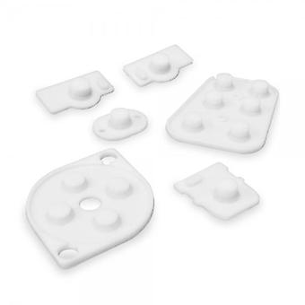 Conductive rubber pad button contacts kit for nintendo 64 controller (n64)
