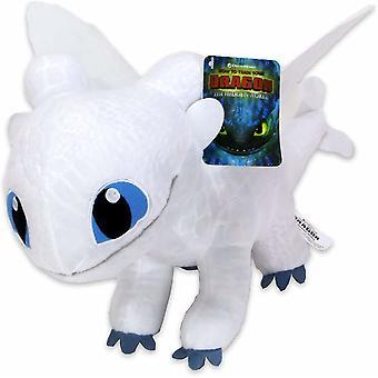 Dragons Light Fury Draktränaren Gosedjur Plush Mjukisdjur 35cm