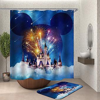 Disney Cinderella Castle Shower Curtain