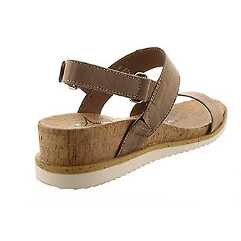 American Rag Womens Dalary Faux Suede Ankle Strap Wedge Sandals