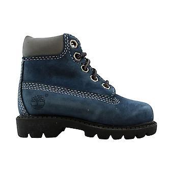 Timberland Classic 6 Inch Boot China Blue/Nubuck 11800 Toddler