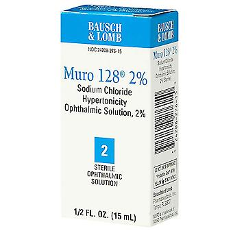 Muro 128 sterile ophthalmic 2% solution, 0.5 oz