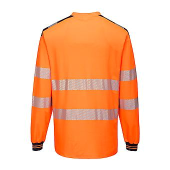 Portwest - PW3 Hi Vis Workwear Langarm T-Shirt