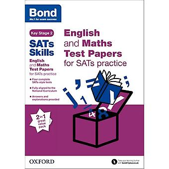 Bond SATs Skills English and Maths Test Paper Pack for SATs