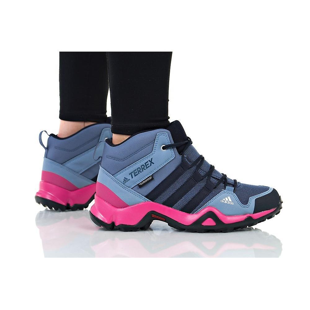 Adidas Terrex AX2R Mid CP AC7976 trekking all year kids shoes