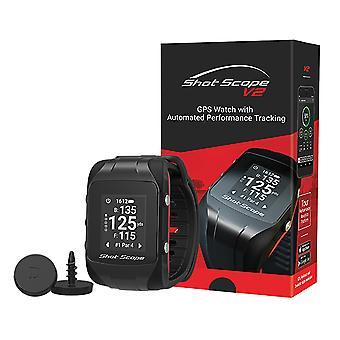 Shot Scope unisex 2020 v2 GPS & ydeevne tracking Golf Watch