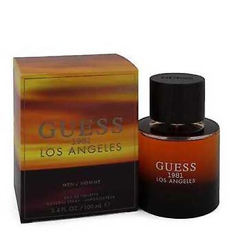 Guess 1981 Los Angeles By Guess Eau De Toilette Spray 3.4 Oz (men) V728-547815