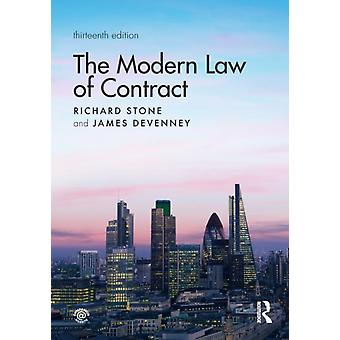 Modern Law of Contract by Richard Stone
