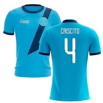 2020-2021 Zenit St Petersburg Away Concept Football Shirt (Criscito 4)