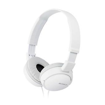 Headphones Sony MDR ZX110 wit met hoofdband