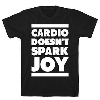 Cardio vonk niet vreugde t-shirt