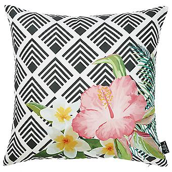 """18 """"x 18"""" trooppinen kukka puutarha koriste heittää tyynyn päällisen"""