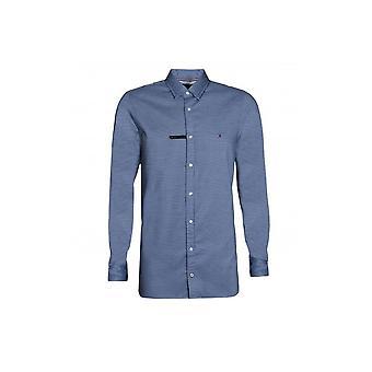 تومي هيلفيغر الرجال & ق سليم الأساسية دوبي قميص