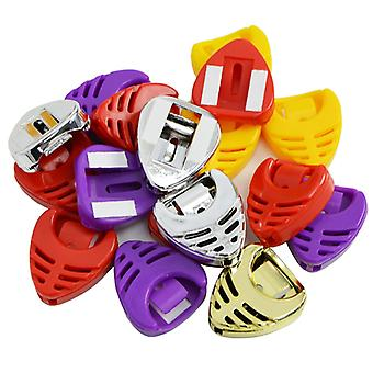 Rocket Guitar Pick Holders x 100 mixed colour