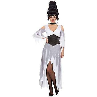 Gotische bruid kostuum volwassen wit
