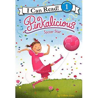 Pinkalicious: Estrella del fútbol (puedo leer libros: nivel 1