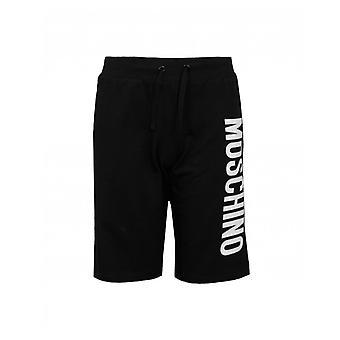 Moschino Vertical Logo Shorts