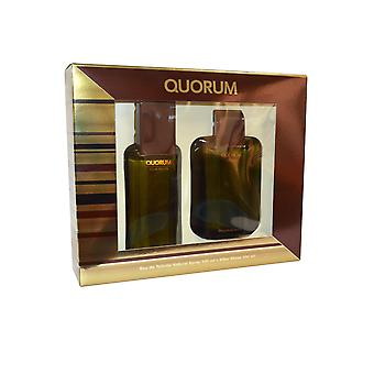 Puig Quorum Eau de Toilette Spray 100ml After Shave 100ml