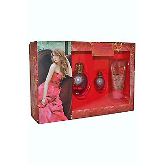 Taylor Swift encantado infantil Eau de Parfum Spray 30ml Eau de Parfum 5ml, loção corporal 50ml