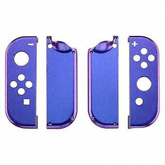 Housing shell for nintendo switch joy-con controller hard casing replacement - chameleon purple blue | zedlabz