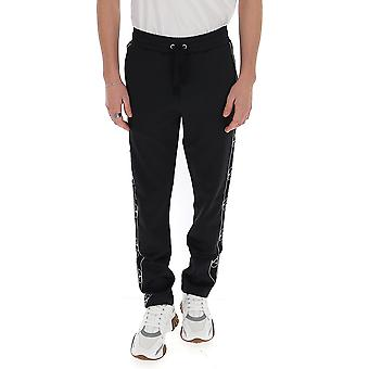 Valentino Tv3md02f64n0no Men's Black Nylon Pants