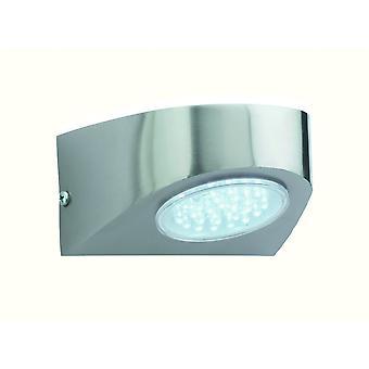 Firstlight Showcase Industrial Stainless Steel Outdoor LED Spotlight Wall Light