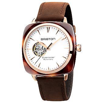 Briston 19740.PRA.TI.2.LVC Clubmaster Iconic Brown Automatic Wristwatch