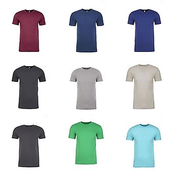 Next Level Adults Unisex Suede Feel Crew Neck T-Shirt