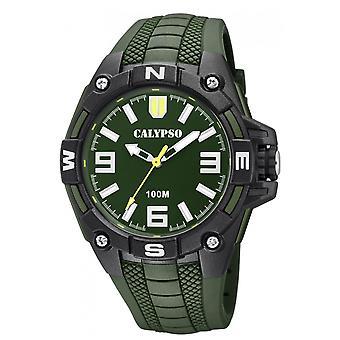 Assistir Calypso-K5761-5 - seno de seno STREET STYLE bracelete R caixa verde R negro