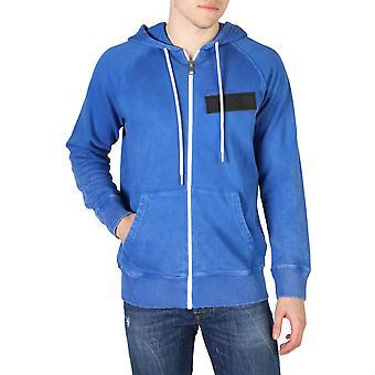 Diesel Original Men All Year Sweatshirt - Blue Color 55110