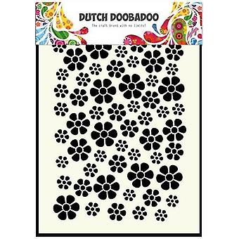 Dutch Doobadoo Flowers A5 Stencil Mask 470.715.040
