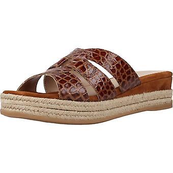 Unisa Sandals Gandhi Crw Color Saddle