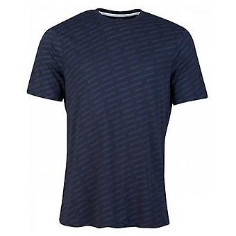 Armani Austausch alle über große Skript Logo T-Shirt