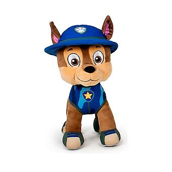 Paw Patrol Jungle Rescue S3 Chase peluche animal Sofis 27cm
