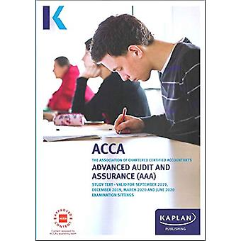 ADVANCED AUDIT AND ASSURANCE - STUDY TEXT by KAPLAN - 9781787403987 B