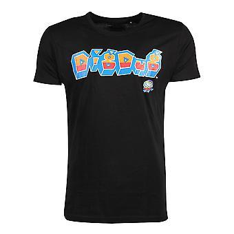 Official Dig Dug Logo Men's T-shirt
