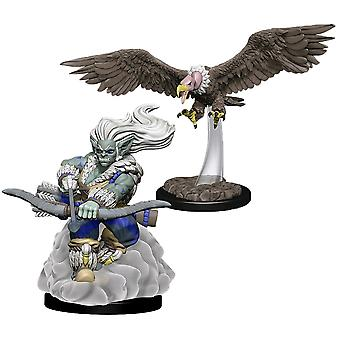 Wardlings Wind Orc & Vulture Pre-Painted Mini