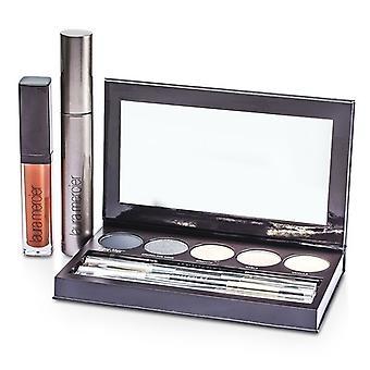 Laura Mercier Classic Smoky Eye Palette Collection (1xMascara, 1xLip Glace, 1xCake Eye Liner, 4xEye Colour, 3xBrush) 10pcs
