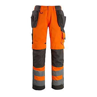 Mascot wigan hi-vis work trousers 15531-860 - safe supreme, mens -  (colours 1 of 3)