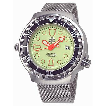 Tauchmeister T0228MIL automatic diving watch 1000 m