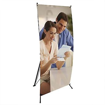 """WinSpin Wholesale 24""""x63"""" X Type Banner Stand Foldable Tripod Signage Holder w/Bag Trade Show Display"""