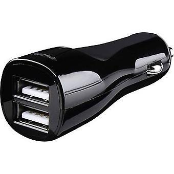 حماة الثنائي 4.8 173609 USB شاحن سيارة, HGV ماكس. الإخراج الحالي 4800 mA 2 x USB