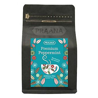 Praana Tea - Premium Pure Peppermint Herbal Tea - 100g