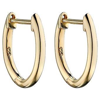 Elements Gold Huggie Earrings - Gold