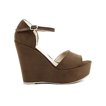 Made in Italia - Shoes - Wedge pumps - BENIAMINA_CUOIO - Ladies - sienna - 37