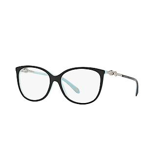 Tiffany TF2143B 8055 Black on Tiffany Blue Glasses
