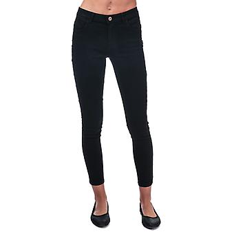Women's Only Daisy Push Up Skinny Ankle Jeans in Black