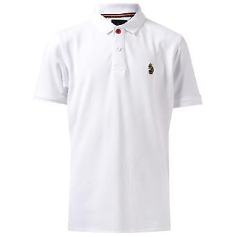 Boy's Luke 1977 Junior Wiliams Polo Shirt in White