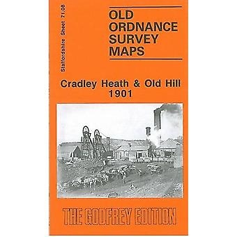 Cradley Heath and Old Hill 1901 - Staffordshire Sheet 71.08 by Cradley