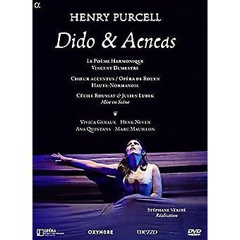 Vivica Genaux - Purcell: Importazione Dido & Aeneas [DVD] Stati Uniti d'America